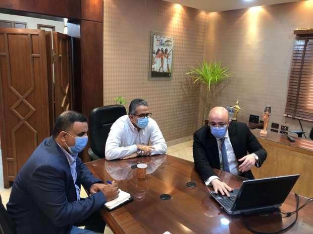 وزير الآثار يبحث مع محافظ بني سويف خطوات دفع الحركة السياحية