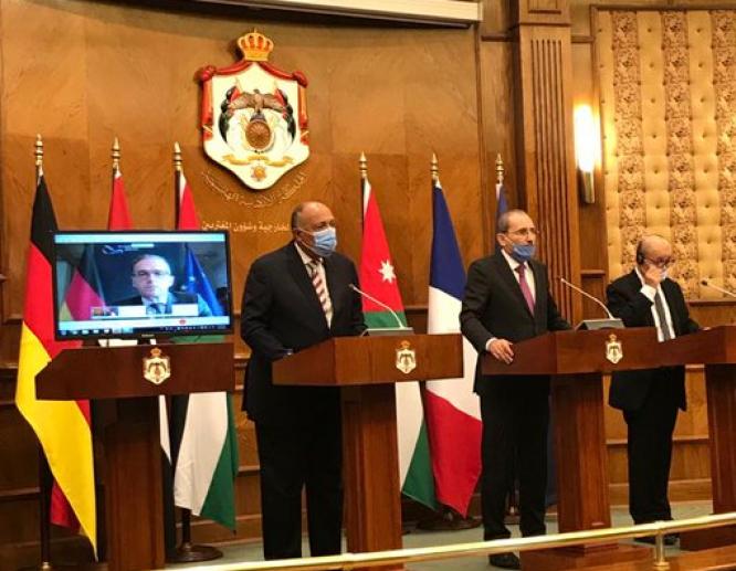 وزير الخارجية : مصر تسعى  للتوصل إلى حل شامل وعادل للقضية الفلسطينية