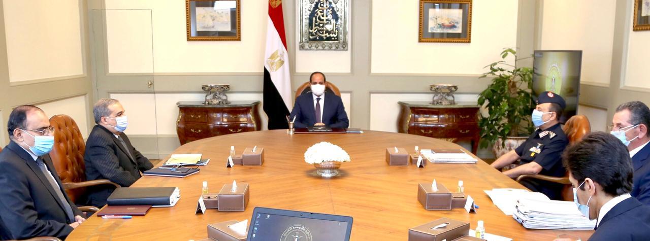 الرئيس السيسي يوجه بتنفيذ مشروع «مستقبل مصر» وفق أعلى المعايير