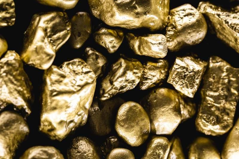 ضبط 1.5 طن أحجار تحتوي على معدن الذهب الخام