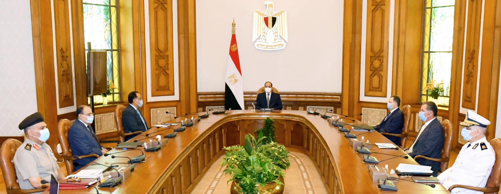 صور| الرئيس السيسي يوجه بميكنة المنشآت الجديدة لوزارة الداخلية