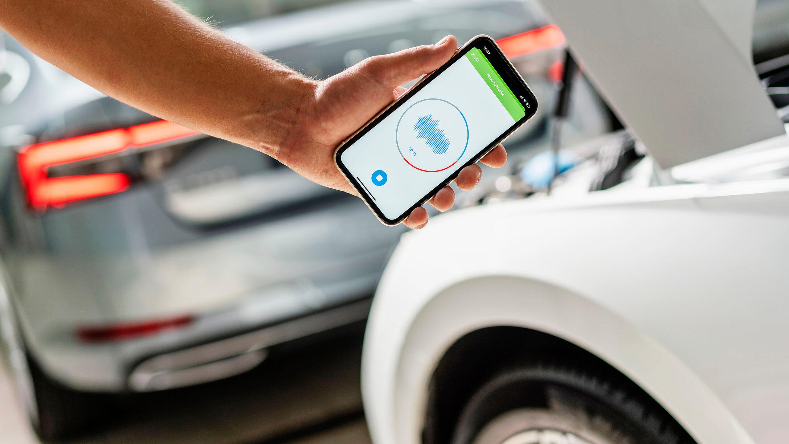 تطبيق ذكي من سكودا يحدد أعطال السيارة من خلال صوتها