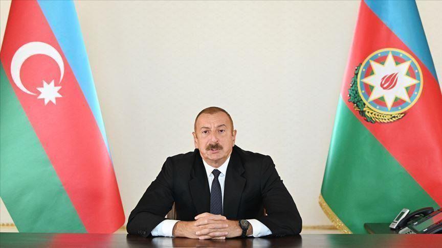 رئيس أذربيجان يعارض تدويل النزاع فى إقليم قرة باغ