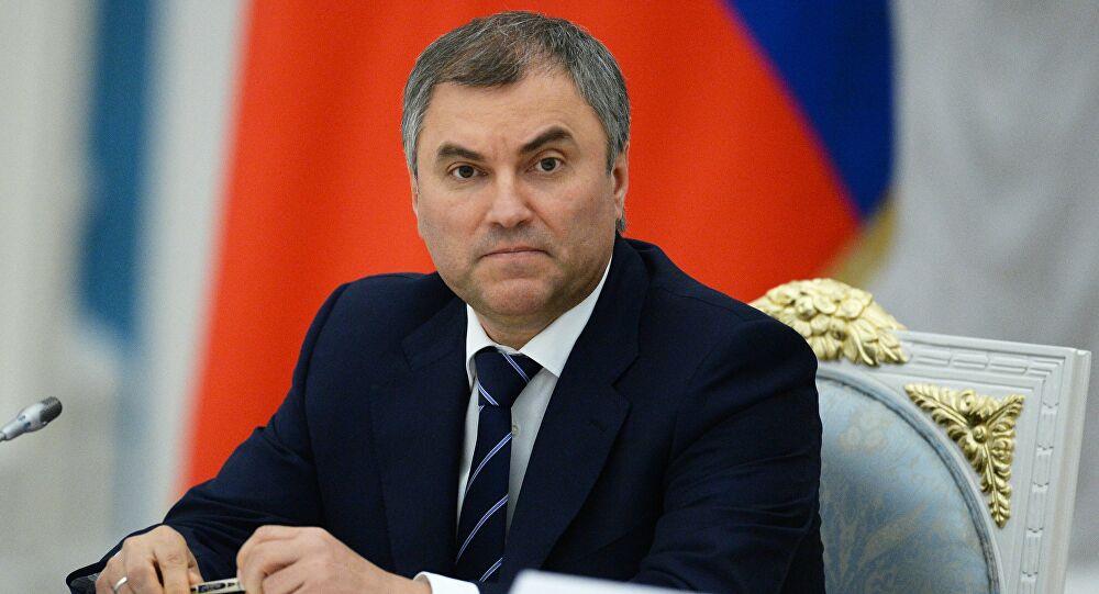 رئيس مجلس الدوما الروسي : 38 نائبا بالبرلمان مازالوا في المستشفيات بسبب كورونا
