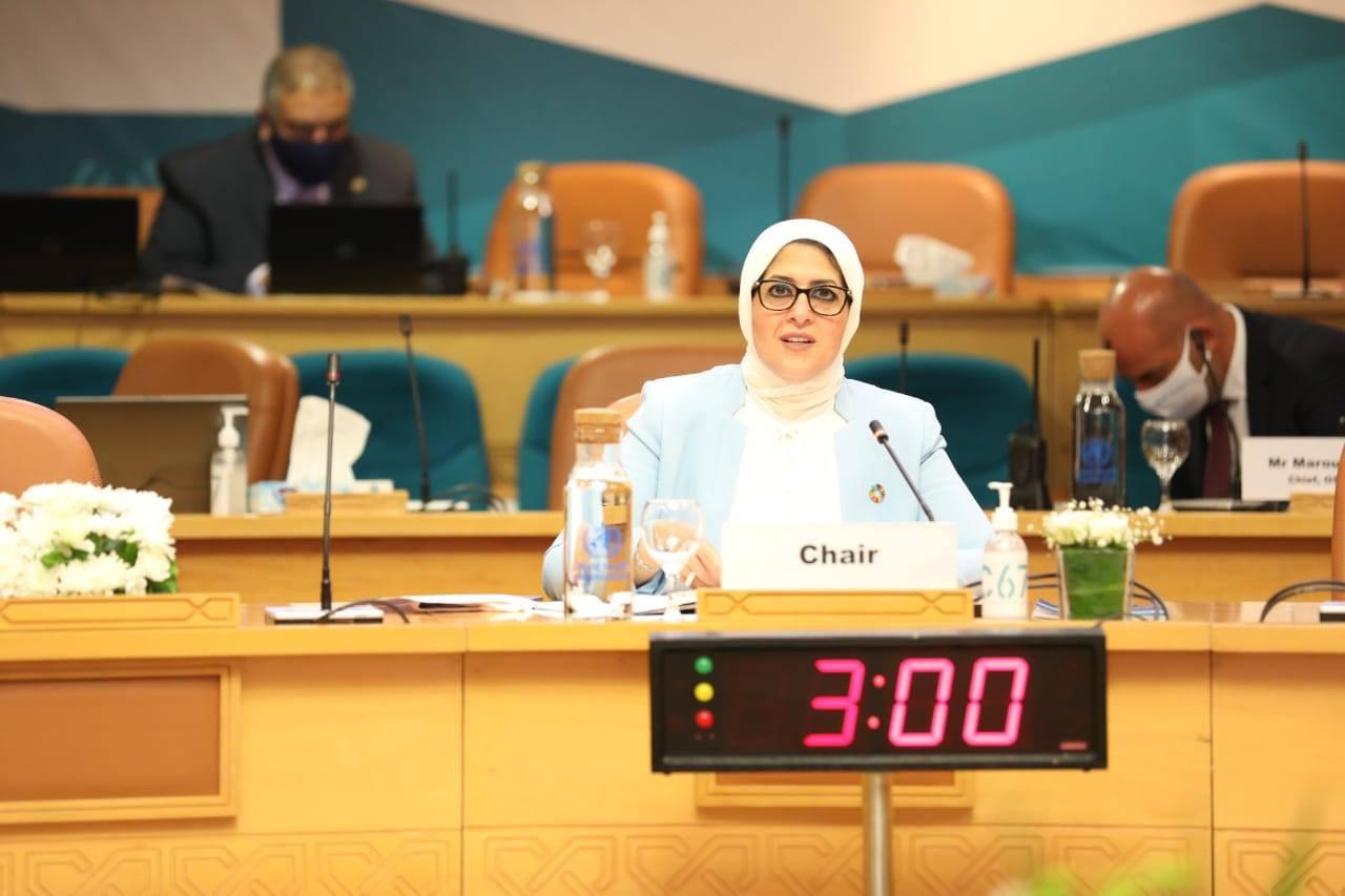 صور| وزيرة الصحة : استمرار تقديم الخدمات الصحية أولوية بالغة الأهمية خلال مواجهة كورونا