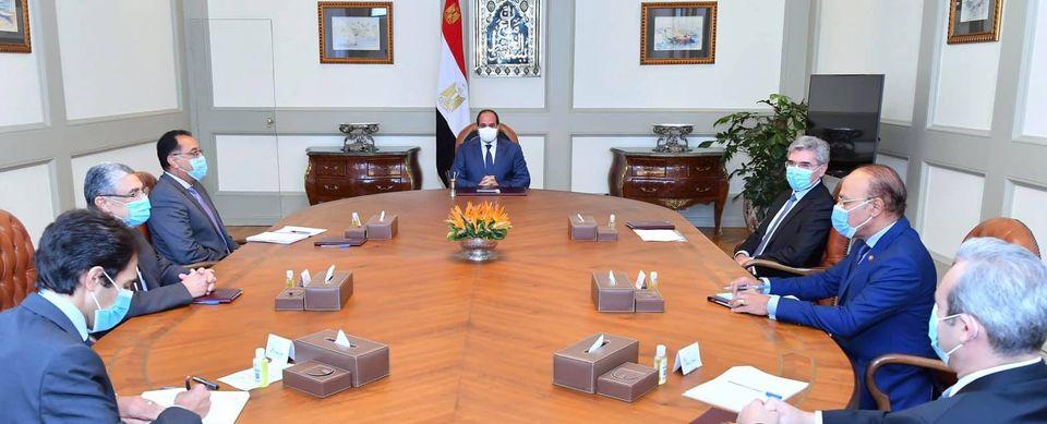 الرئيس السيسي : نتطلعللاستفادة من خبراتشركة سيمنزالألمانية في عدة قطاعات تنموية