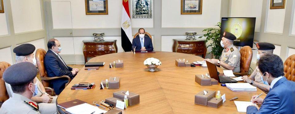 الرئيس السيسي يوجه بتنفيذ أحدث وأرقى التصميمات لأحياء العاصمة الإدارية