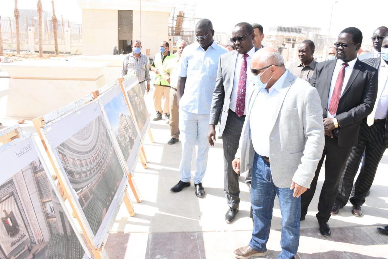 """""""الري"""" تنظم زيارة ميدانية لوزير الري الجنوب سوداني إلى العاصمة الإدارية"""