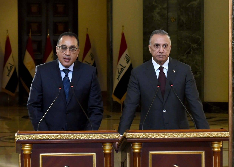 صور | رئيس الوزراء: الحفاظ على الحقوق المائية لمصر والعراق أمن قومى عربى