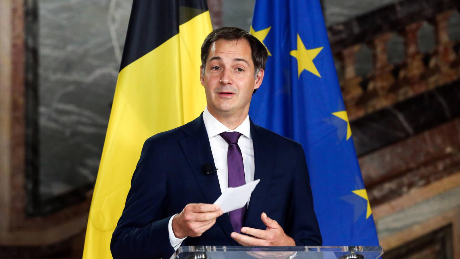 رئيس الوزراء البلجيكى يعلن تشديد الإجراءات لوقف ارتفاع حالات الإصابة بكورونا