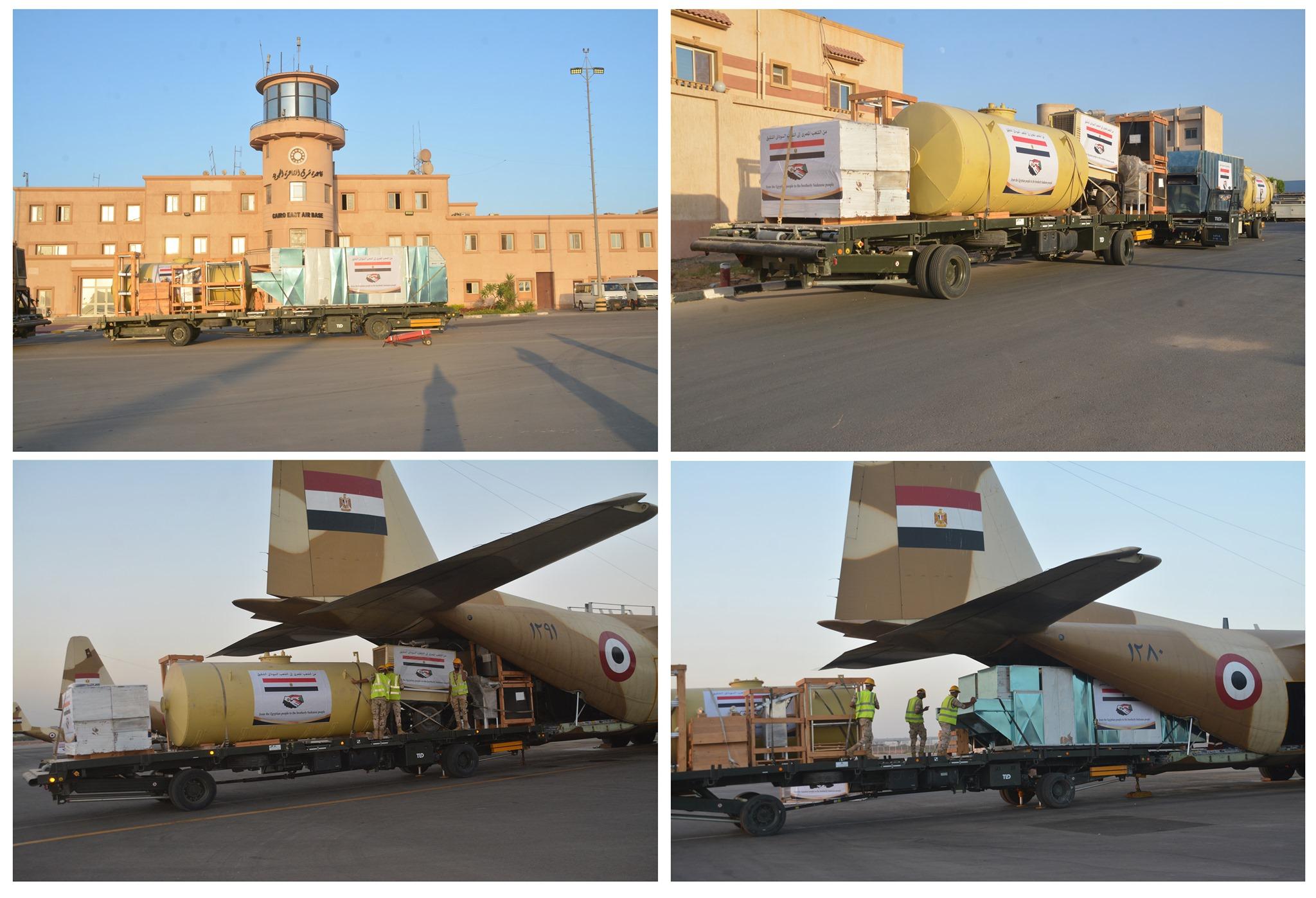 مصر تواصل إرسال عدد من خطوط إنتاج الخبز الميدانية للسودان