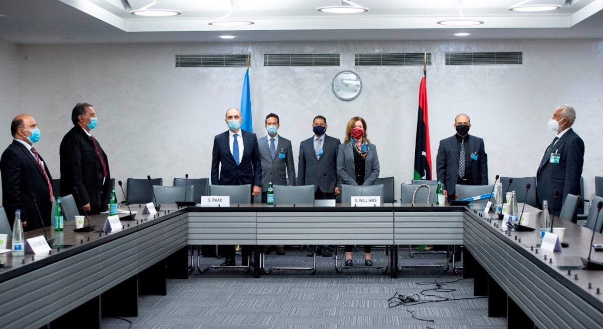 انطلاق الجولة الرابعة من محادثات اللجنة العسكرية المشتركة الليبية في جنيف