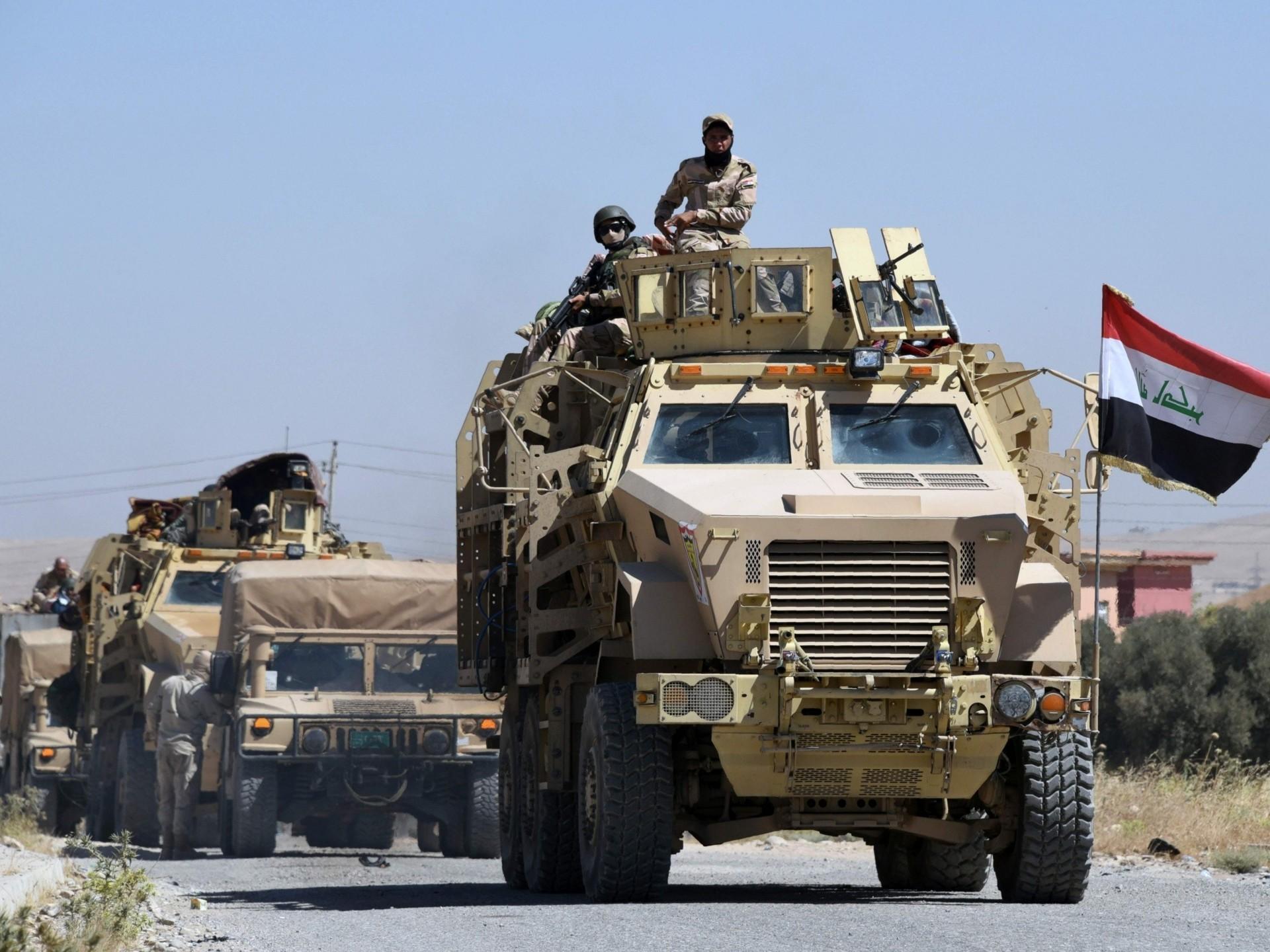 الاستخبارات العراقية تلقى القبض على عنصرين بتنظيم داعش فى كركوك