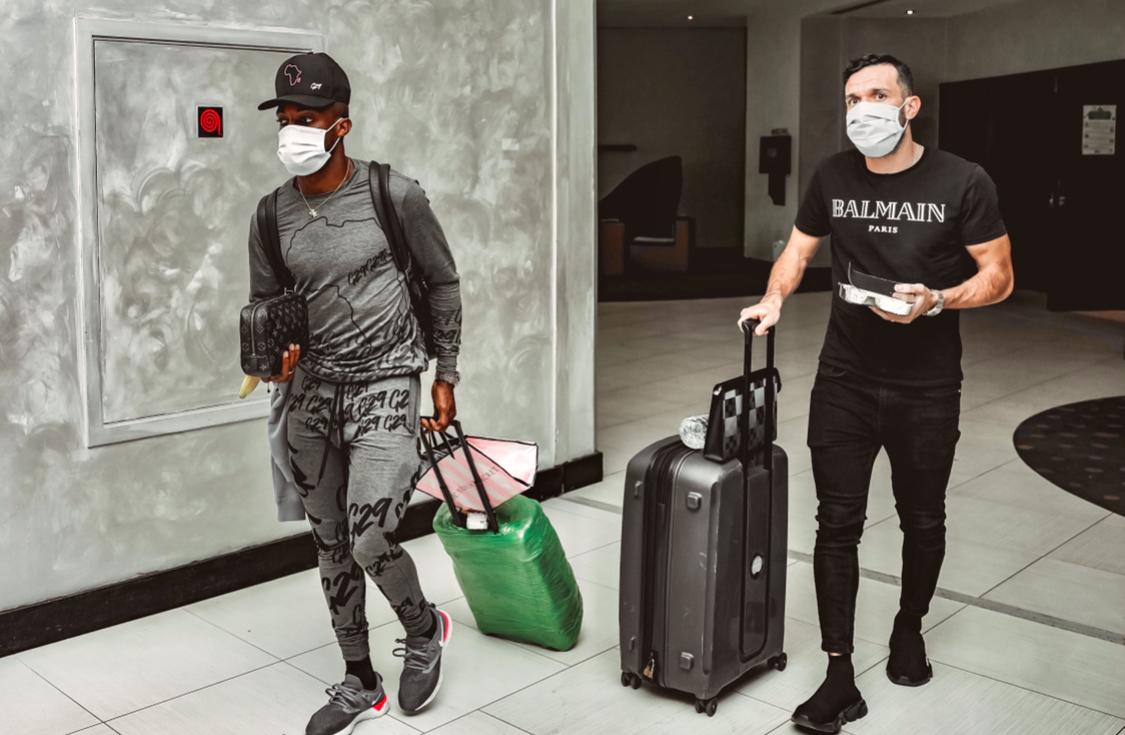 معلول وجيرالدو ينضمان إلى بعثة الأهلي بالمغرب