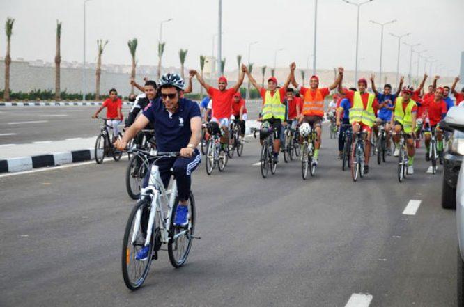 وزارة الرياضة تنظم ماراثون الدراجات غداً من أمام المتحف المصري
