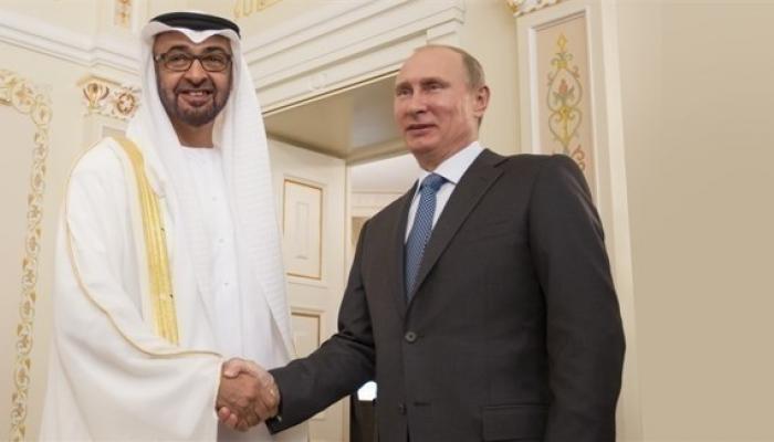 ولي عهد أبوظبي والرئيس الروسى يبحثان سبل تعزيز العلاقات ومستجدات كورونا