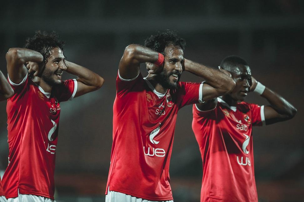 مروان محسن يقود الاهلي للفوز على إنبي بثلاثية في الدوري المصري