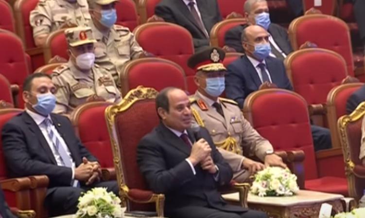 الرئيس السيسي : مسلسل الاختيار حمل صدقا حقيقيا ورسالته كانت لمصر والخارج
