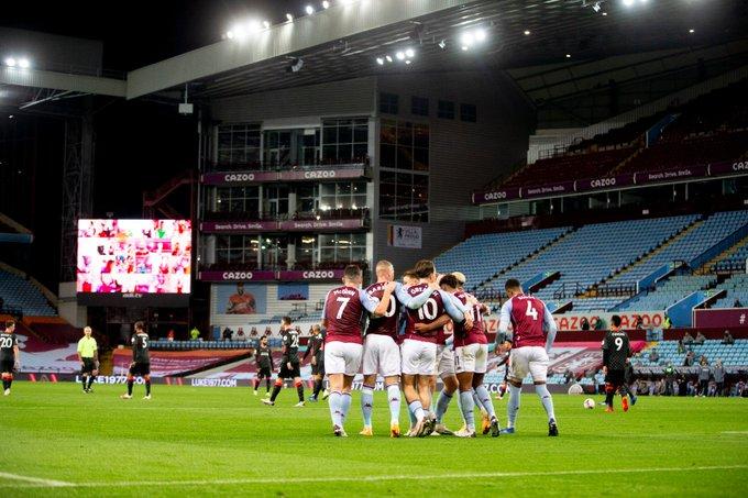 صور | أستون فيلا يسقط ليفربول بسباعية تاريخية في الدوري الإنجليزي