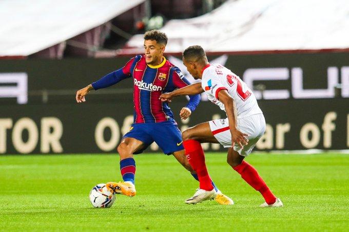 برشلونة يسقط في فخ التعادل أمام إشبيلية في الدوري الإسباني