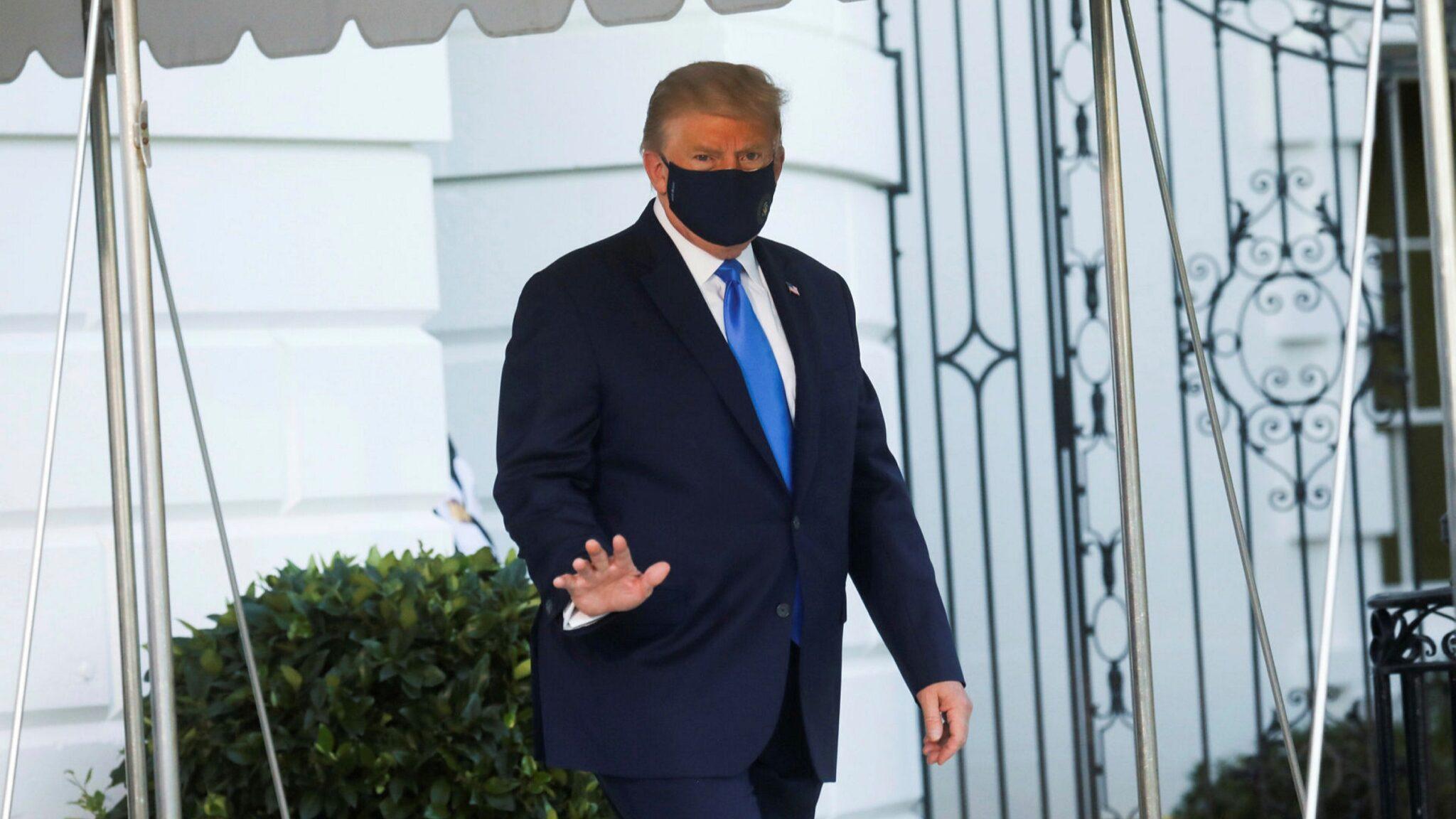 البيت الأبيض يؤكد استمرار تحسن الوضع الصحي لترامب
