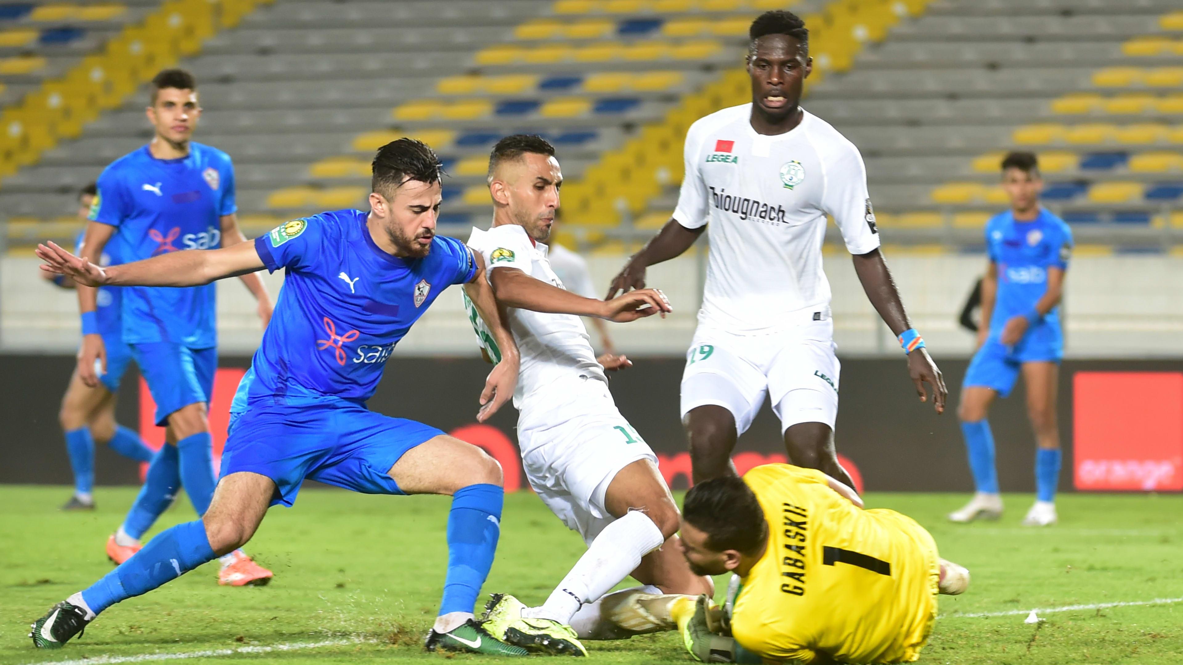 الرجاء المغربى يصل القاهرة الأربعاء لمواجهة الزمالك فى إياب نصف نهائى أفريقيا
