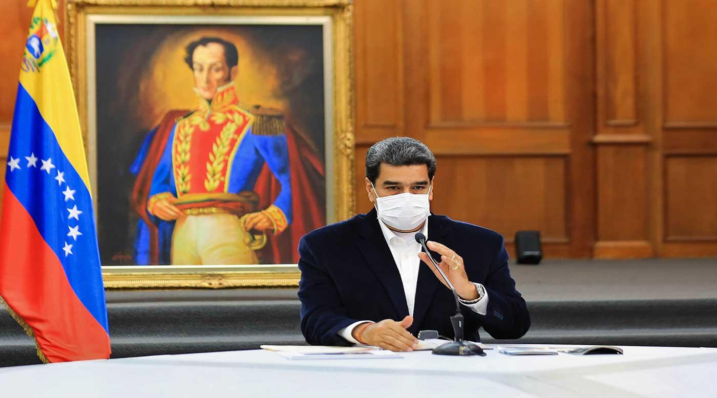 الرئيس الفنزويلى : مستعدون لإقامة علاقات حوار واحترام مع قادة الولايات المتحدة