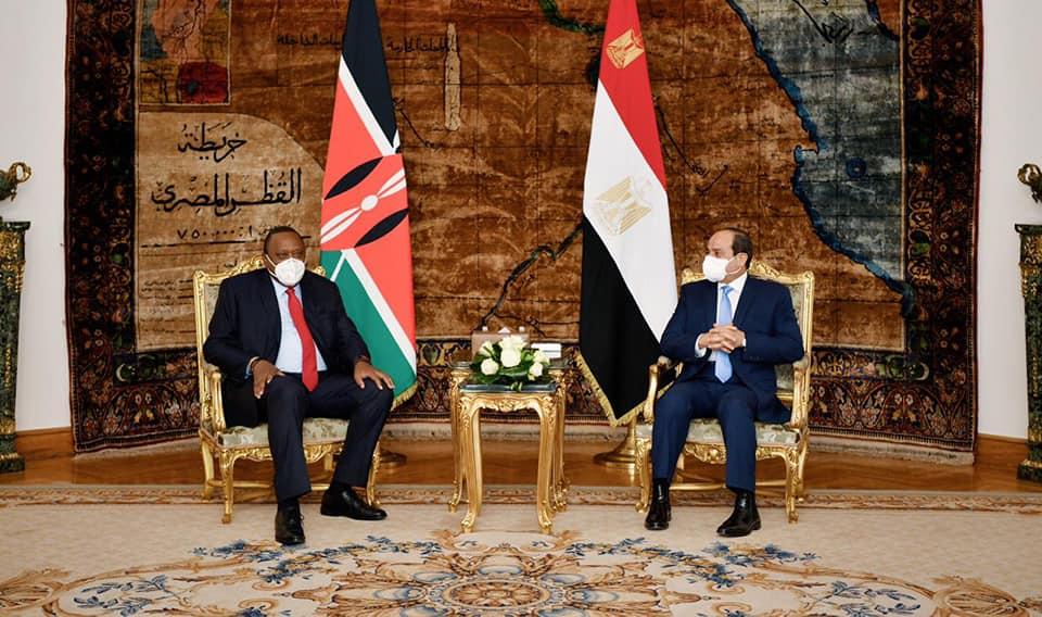 الرئيس السيسي يستقبل نظيرة الكيني لبحث سبل التعاون المشترك