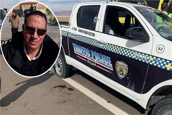 صور| استشهاد ضابط وأمين شرطة في مطاردة بطور سيناء