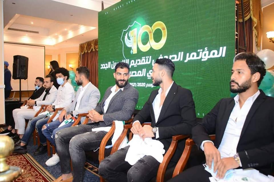 المؤتمر الصحفى للنادى المصرى-2