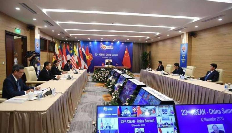 كوريا الجنوبية توقع اتفاقية الشراكة الاقتصادية الإقليمية الشاملة مع 14 دولة