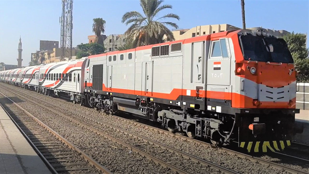 السكة الحديد تعلن التهديات والتأخيرات المتوقعة لحركة القطارات اليوم