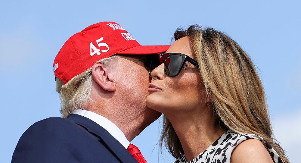 ميلانيا تعد الدقائق للحصول على الطلاق من دونالد ترامب
