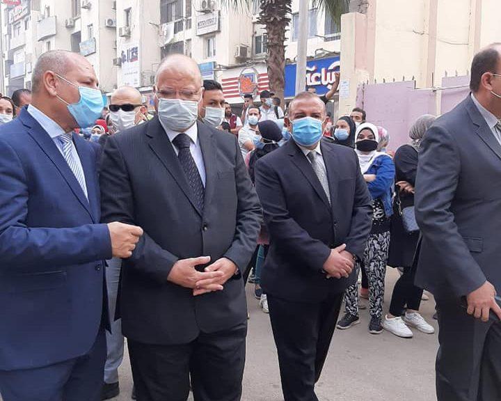 صور | محافظ القاهرة يتفقد سير العملية الانتخابيه بالمنطقة الشرقية