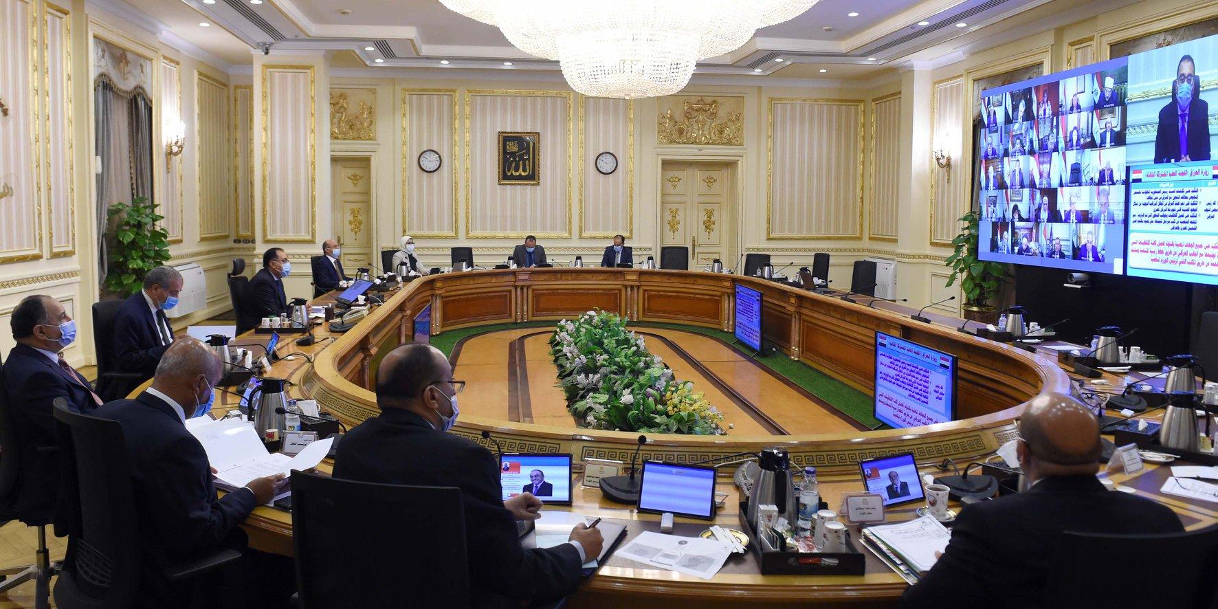وزيرة الصحة تستعرض الوضع الحالي لوباء كورونا في مصر والعالم