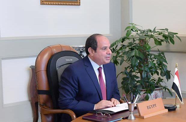الرئيس السيسي يدعو لنشر ثقافة السلام وإعلاء قيم التسامح والتعايش السلمي