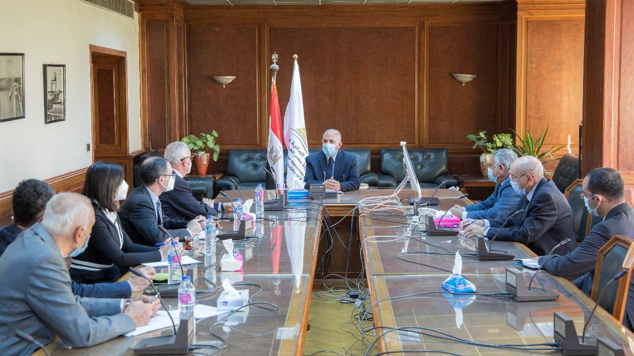 صور | وزير الري: مشروع لتطوير البنية التحتية بالفيوم والمنيا بتمويل من الاتحاد الأوربي