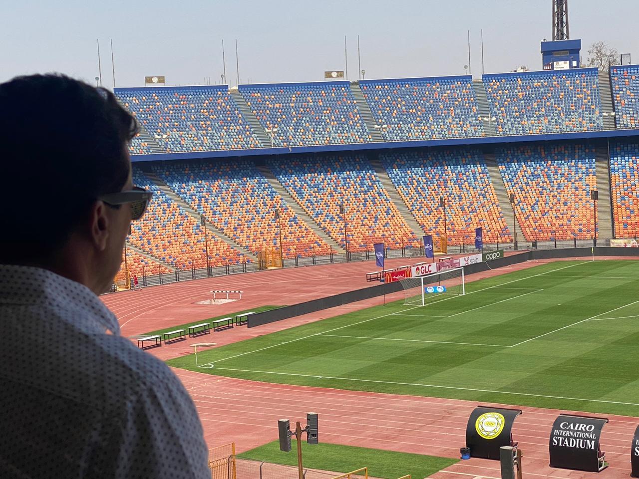 وزير الرياضة يتابع استعدادات إقامة نهائي بطولة أفريقيا باستاد القاهرة 27 نوفمبر الجاري