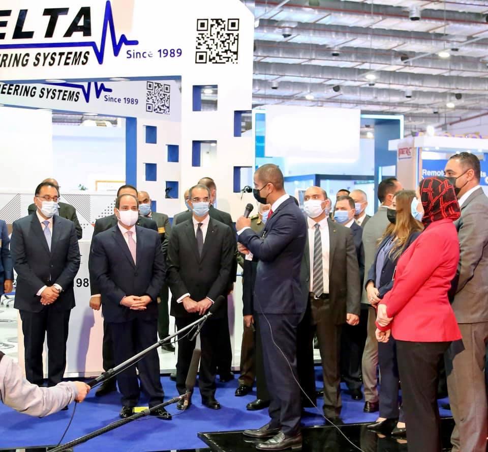 صور | الرئيس السيسي يفتتح معرض ومؤتمر النقل الذكى للشرق الأوسط وأفريقيا