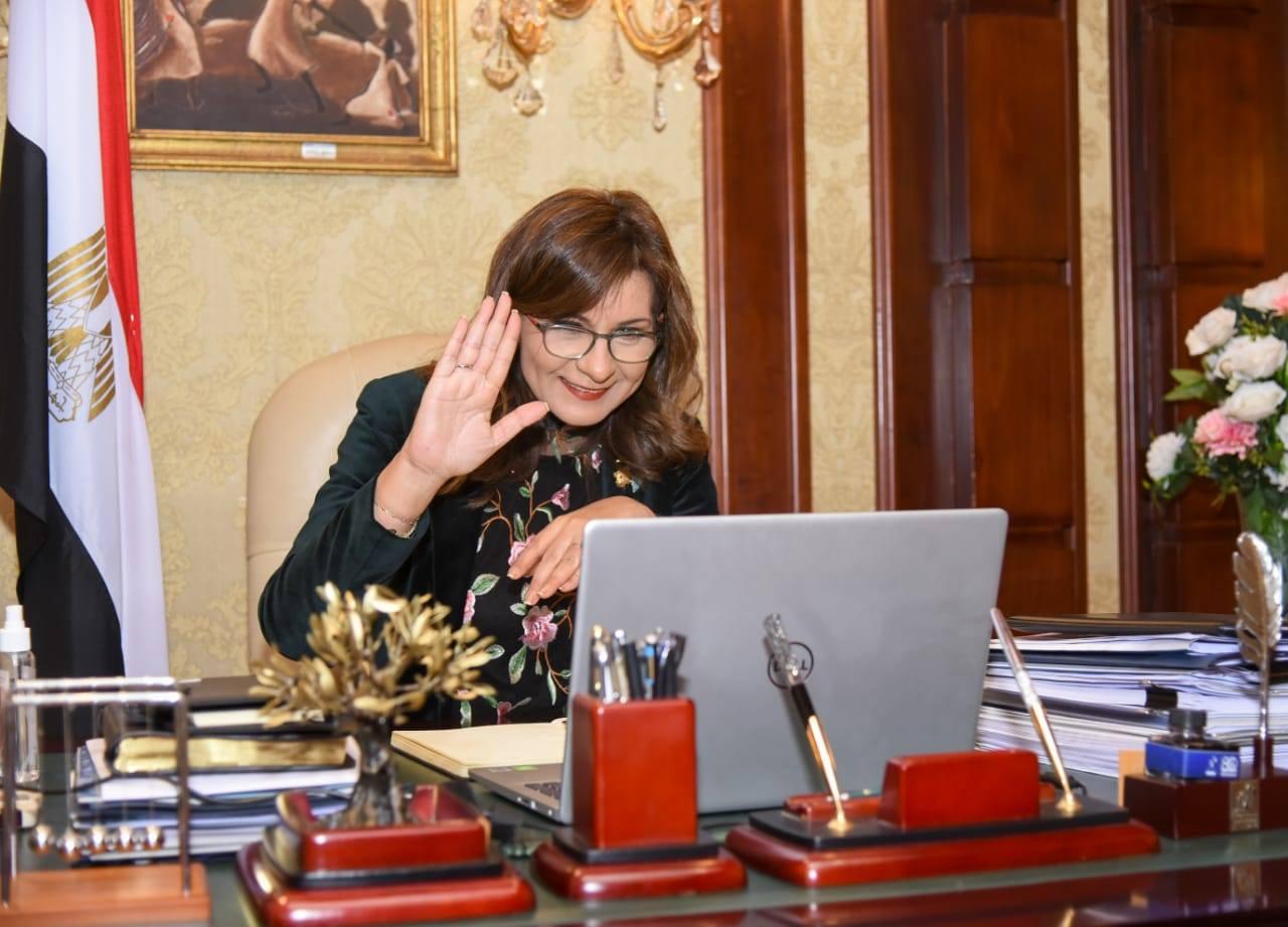 """صور   وزيرة الهجرة تشارك بمعسكر """"اتكلم مصري"""" للأطفال المصريين في كندا"""