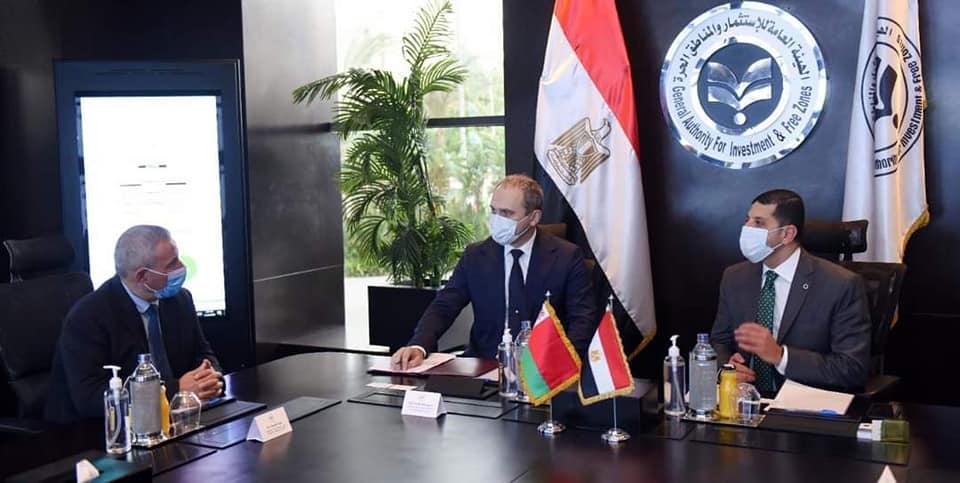 صور | رئيس هيئة الاستثمار يبحث مع السفير البيلاروسي الاستثمارات البيلاروسية في مصر