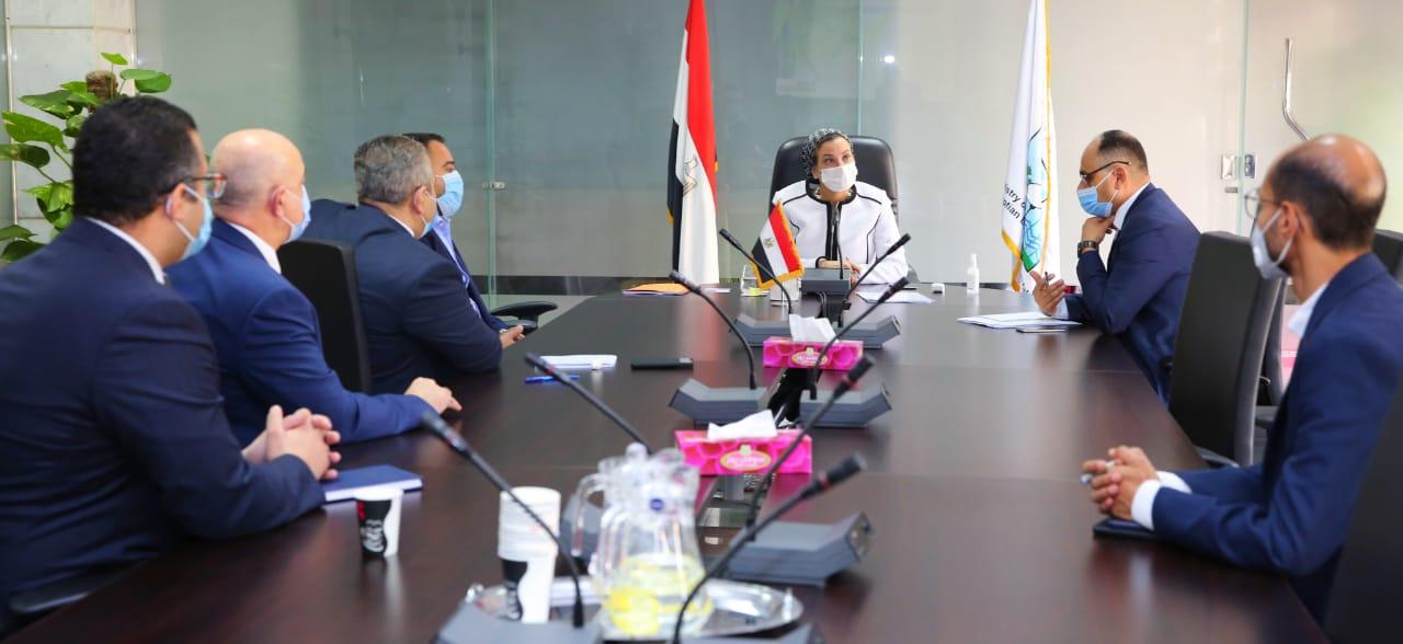 وزيرة البيئة تناقش مع ممثلي شركة فاس السعودية فرص الاستثمار في تحويل المخلفات إلى طاقة