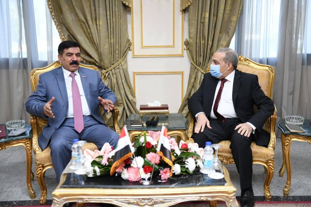 صور | وزير الإنتاج الحربي يلتقي وزير الدفاع العراقي لبحث سبل التعاون المشترك