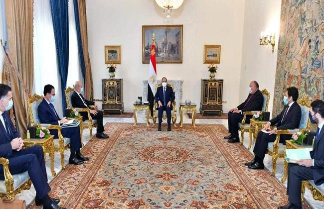الرئيس السيسي يبحث مع وزير الخارجية الفرنسية سبل تعزيز جهود مواجهة تصاعد نبرات التطرف