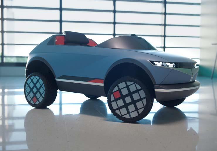 صور | هيونداي تكشف النقاب عن أصغر سياراتها الكهربائية على الإطلاق