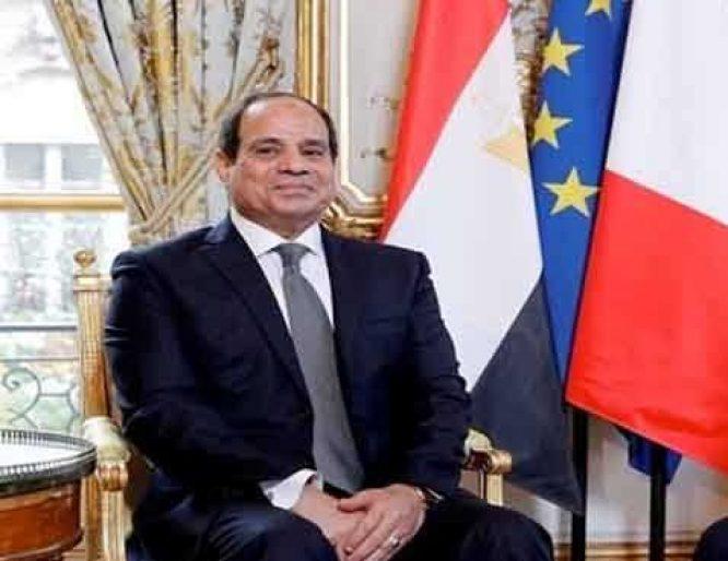 انطلاق مباحثات السيسي ورئيس وزراء فرنسا لتعزيز العلاقات الاستراتيجية
