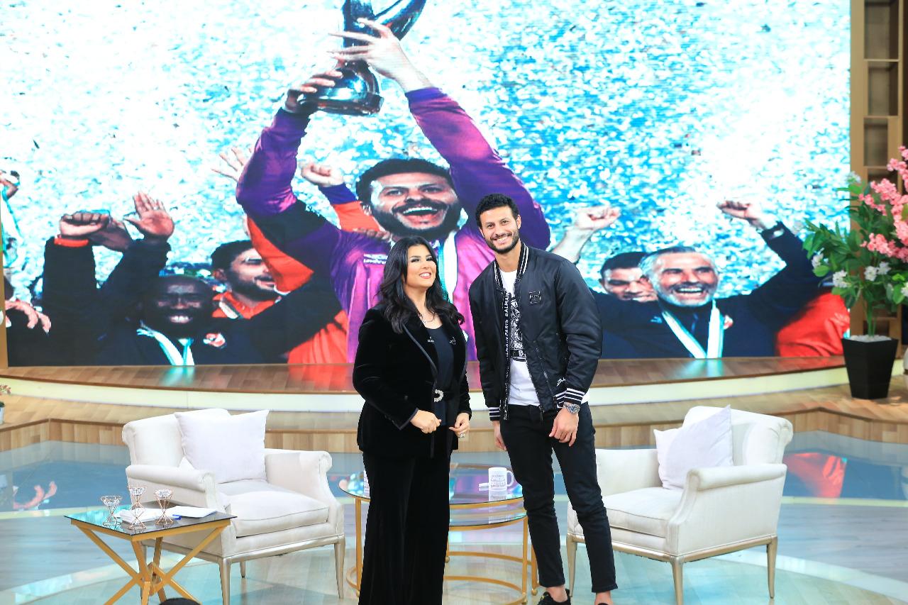 صور   منى الشاذلي تستضيف محمد الشناوي فى حلقة خاصة بعد فوز الأهلى بدورى أبطال أفريقيا