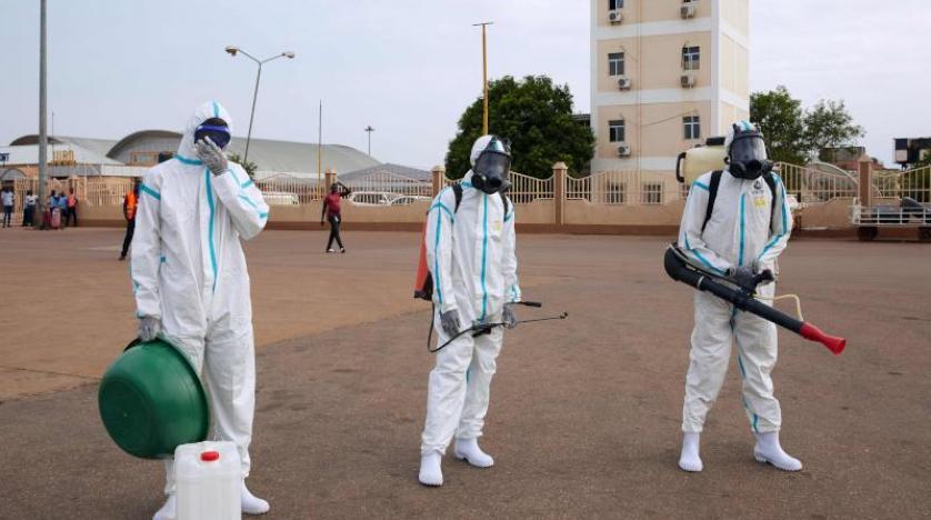 السودان يسجل 57 إصابة جديدة بفيروس كورونا وحالة وفاة واحدة
