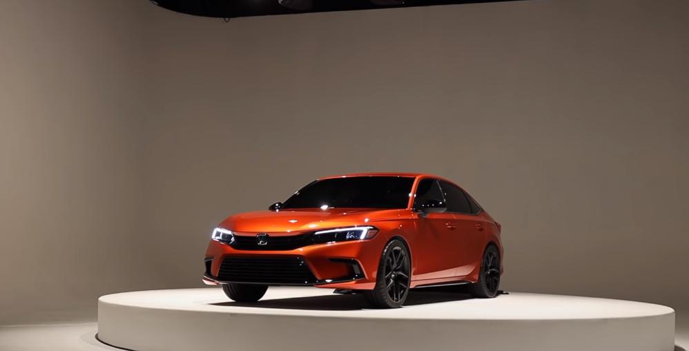 فيديو وصور | شركة هوندا تكشف النقاب عن تصميم Civic الجديدة كليا