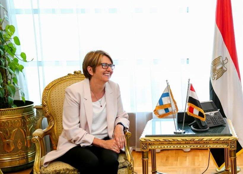 سفيرة فنلندا بالقاهرة: تعاون مع مصر في التعليم والذكاء الاصطناعي